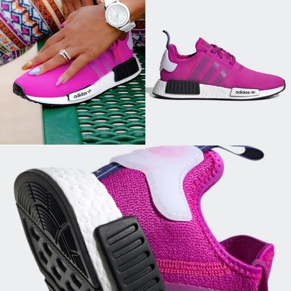 Adidas Nmd R W Vivid Pink Sneakers
